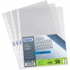 Buste a foratura universale Liscio Super Clear Favorit - Superior 25x35 cm - 100460071 (conf.25)