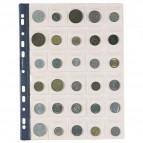 Busta portamonete Favorit - 30 tasche - 30 - numismatica - 22,5x30 cm - trasparente - 100500067 (conf.10)