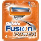 Ricariche per rasoio Fusion Power Gillette - 7702018852482 (conf.4)