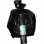 Sacchi per immondizia Cagliplast - 70x110 cm - 110 l - 48 µm - nero scatola - 20400 (conf.200)