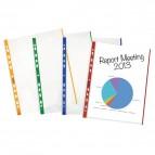 Buste Special con banda colorata Favorit - goffrata - A4 - blu - 100460032 (conf.10)