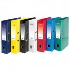 Registratore legale Unico con chiusura Elba - Dorso 8 - 23x33 cm - azzurro - 100460489