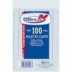 Palette caffè linea plastica DOpla - trasparente - 9,5 cm - 05016 (conf.100)