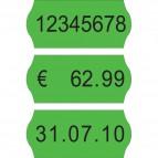 Etichette per prezzatrici Avery Dennison - 12x26 mm - Permanenti - verde - 1 - PG2070 (conf.15000)