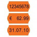 Etichette per prezzatrici Avery Dennison - 12x26 mm - Permanenti - arancione - 1 - PG2071 (conf.15000)