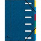 Libro monitore Harmonika® Exacompta - 6 divisori - blu - 55062E