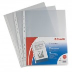 Buste a foratura universale Copy Safe Esselte - Deluxe 22x30 cm antiriflesso- 395097600 (conf.50)