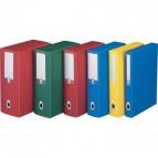 Scatole progetto Plus Fellowes - Dorso 4 - 25,5x35,5 cm - azzurro - U204AZ (conf.5)