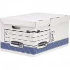 Scatola archivio con coperchio ribaltabile Bankers Box System Fellowes - 0021601 (conf.10)