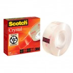 Nastro Crystal supertrasparente Scotch® 600 - 19 mm x 33 m - 600-1933