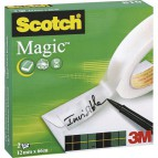 Nastro adesivo Scotch® Magic™ 810 - 12 mm x 66 m - 810-1266 (conf.2)
