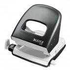 Perforatore Leitz 5008 - nero pastello - 50080395