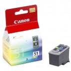 Originale Canon inkjet cartuccia A.R. CL-51 - 7x3 ml - c+m+g - 0618B001