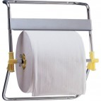 Dispenser per bobine QTS - murale - Cromato - 46,5x41x53 cm - Ø 40 x L 30 - 4096/OOO