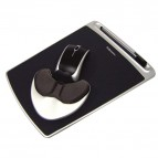 Mousepad Easy Glide con Microban Fellowes - nero - 9373003
