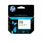 Originale HP inkjet cartuccia 711 - 29 ml - giallo - CZ132A