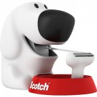 Dispenser Scotch® Magic™ Dog - bianco e rosso - dog