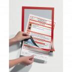 Cornici adesive Duraframe® Durable - A4 - rosso - 4872-03 (conf.2)