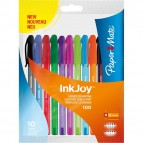 Papermate InkJoy 100 Papermate - assortiti - 1956751 (conf.8+2)