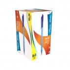 Penna a sfera Papermate Inkjoy 100 scatto - blu - S0977440 (conf.80+20)