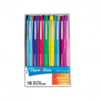 Penna con punta sintetica Flair Nylon Papermate - assortiti - 1 mm - S0977450 (conf.16)