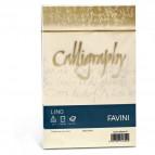 Calligraphy effetto lino Favini - lino - avorio - buste - 12x18 cm - 120 g - A57Q617 (conf.25)