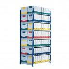 Scaffalatura ad incastro RANG'ECO Paperflow - Scaffale H200 x L100 x P70 - 5 - K605170