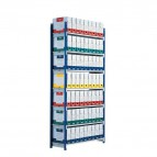 Scaffalatura ad incastro RANG'ECO Paperflow - Scaffale H200 x L125 x P35 - 5 - K607130