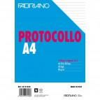 Fogli protocollo Fabriano - in blister - rigato a 31 - 60 g/mq - 32131030 (conf.30)