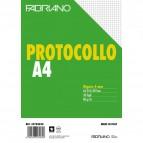 Fogli protocollo Fabriano - in blister - 4 mm - 60 g/mq - 32704030 (conf.30)