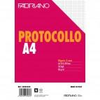 Fogli protocollo Fabriano - in blister - 5 mm - 60 g/mq - 32805030 (conf.30)