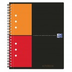Blocco spiralato ACTIVEBOOK INTERNATIONAL Oxford - A5+ - 80 ff - 5 mm c/marg. - 100102880