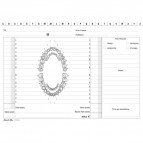 Schedario dentisti Semper Multiservice - 17x24 cm - 155800000 (conf.100)
