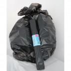 Sacchi per immondizia Cagliplast - 70x100 cm - 97 l - 17 my - nero - 10331-AZ (conf.10)