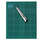 Piano da taglio Niji - 45x30x0,3 cm - verde - doppio spessore - CM-45
