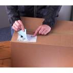 Etichette bianche ecologiche BlockOut™ x pacchi FSC Avery - 99,1x67,7 mm - 8 - L7165-100 (conf.100)