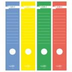 Copridorso CDR C - carta autoadesiva - rosso - 7x34,5 cm - Sei Rota - conf. 10 pezzi