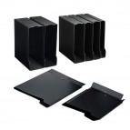 Custodia per raccoglitori 65 - 28x31,5 cm - dorso 10 cm - nero - Sei rota