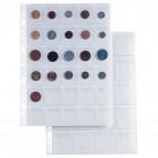 Buste forate Ercole Porta Monete - 30 Tasche - PVC - 21x29,7 cm - Sei Rota - conf. 10 pezzi