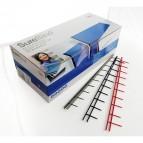 Pettini Surebind - 10 denti - 50 mm - blu - GBC - scatola 100 pezzi