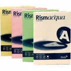 Cartoncino colorato Rismacqua Favini A4 - 140 g/mq - celeste - A65T204 (risma200)