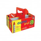 Schoolpack Superpastelli a cera Giotto Be-bè - 5 mm - da 2 anni in poi - 4627 00 (conf.40)
