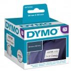 Rotolo 220 etichette LW - 990140 - 54x101 mm - spedizione/badge - bianco - Dymo