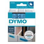 Nastro D1 450160 - 12 mm x 7 mt - nero/blu - Dymo