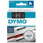 Nastro D1 458110 - 19 mm x 7 mt - bianco/nero - Dymo