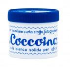 Colla in pasta - barattolo in plastica - pasta adesiva - 125 gr - bianco - Coccoina