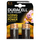 Pile Duracell Plus - mezzatorcia - C - 1,5 V - MN1400B2 (conf.2)
