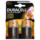 Pile Duracell Plus - torcia - D - 1,5 V - MN1300B2 (conf.2)