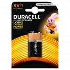 Pile Duracell Plus - transistor - 9 V - MN1604B1