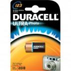 Pile Duracell Ultra M3 Photo per macchine professionali  - 2/3 A - 3 V - 123